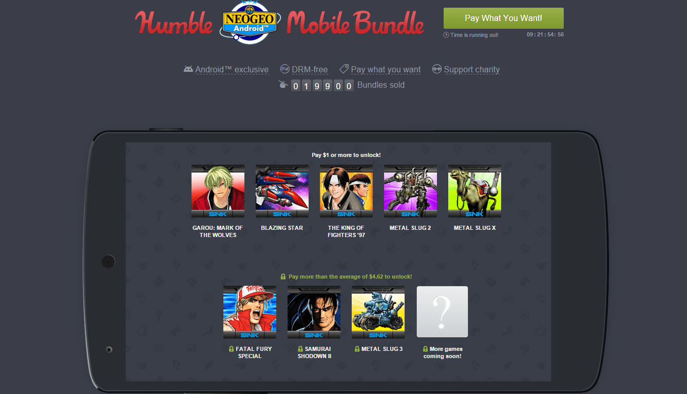 Humble NEOGEO Mobile Bundle