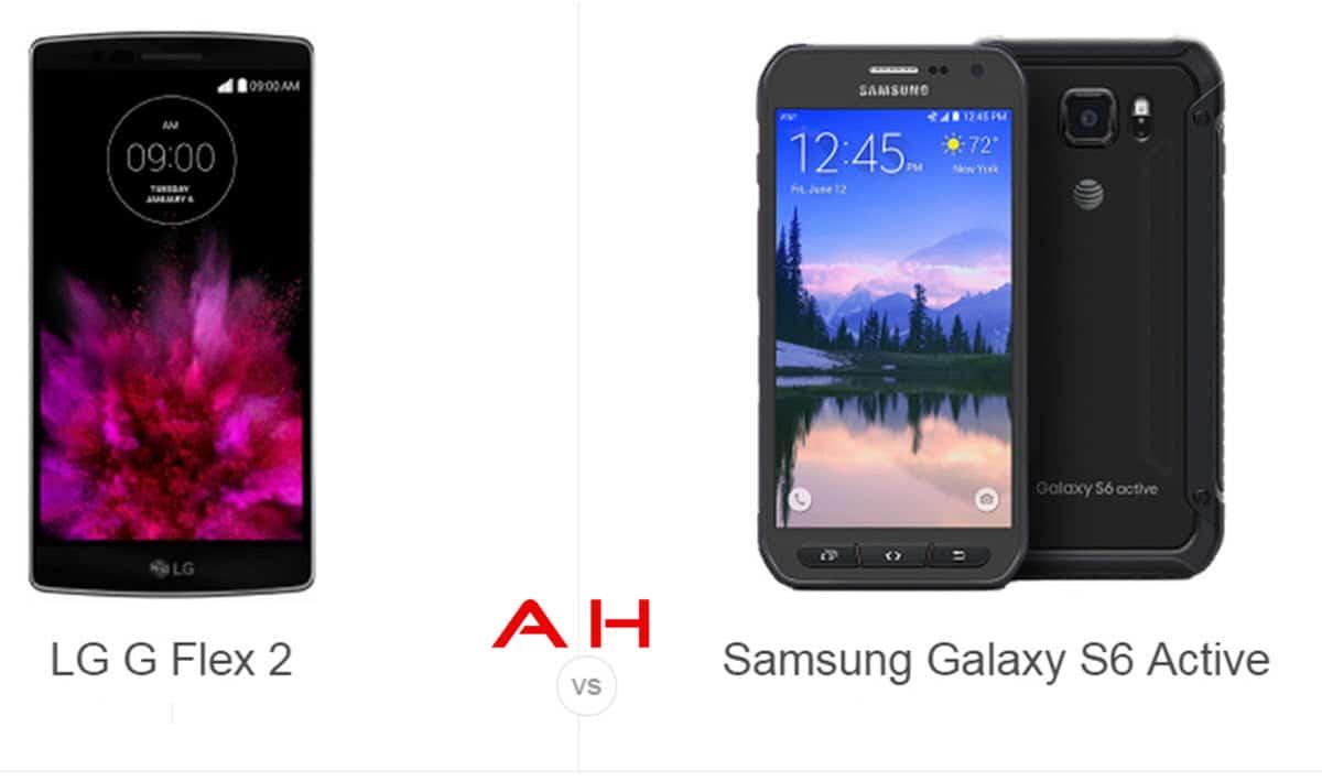 LG G Flex 2 vs Galaxy S6 Active cam AH