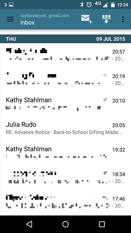 MailDroid Inbox