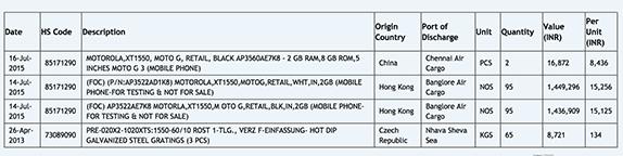 Moto G (2015) Zauba listing_1