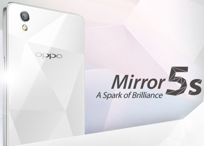 Oppo Mirror 5s Becomes Official With 4G LTE