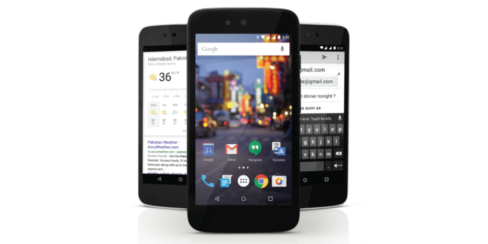 QMobile A1 Unveiled In Pakistan, New Android One Device