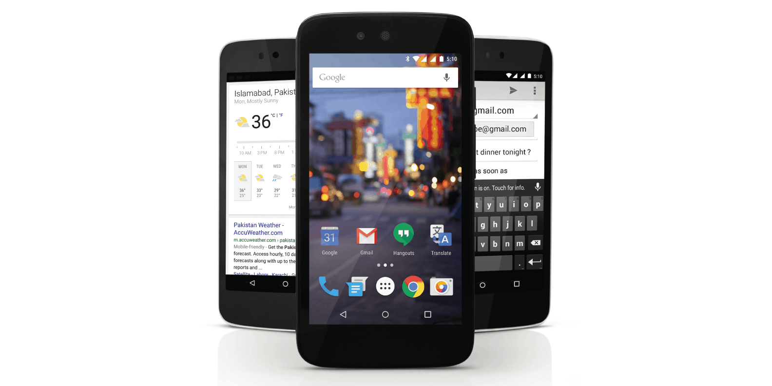 QMobile A1 Android One device 1