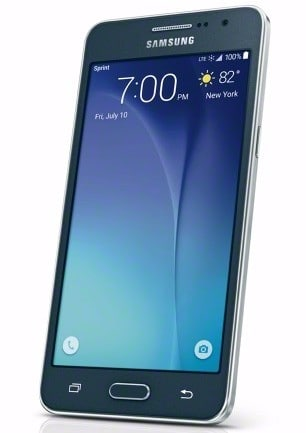 Samsung Galaxy Grand Prime front angle low-res
