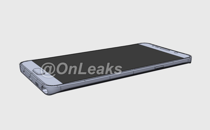 CAD File Released Claiming To Show Galaxy Note 5