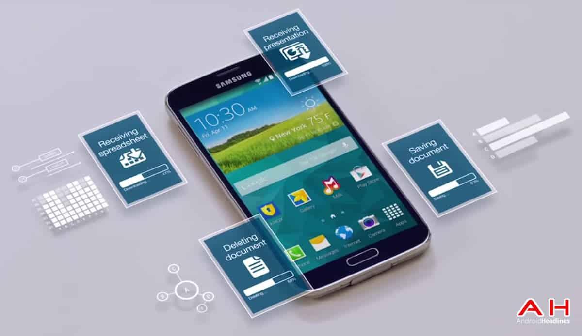 Samsung Knox on Phone cam AH