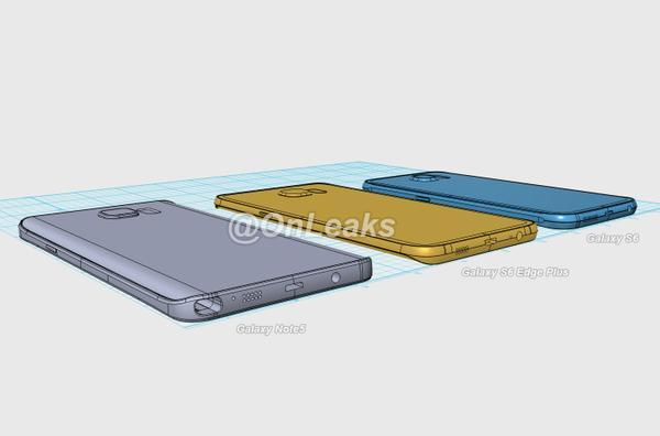 Samsung note 5 s6 onleaks 1