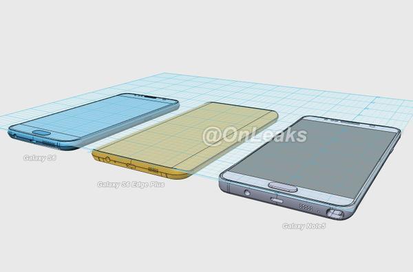 Samsung note 5 s6 onleaks