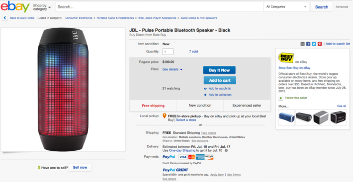 Deal: JBL Pulse Bluetooth Speaker – $149