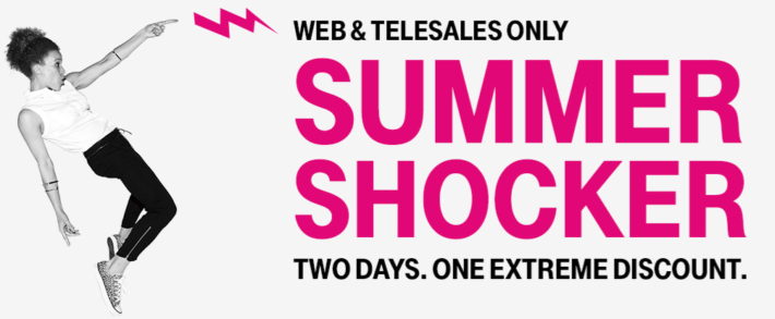 T-Mobile Launches Summer Shocker Sale