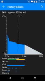 Yu Yuphoria AH screenshot battery