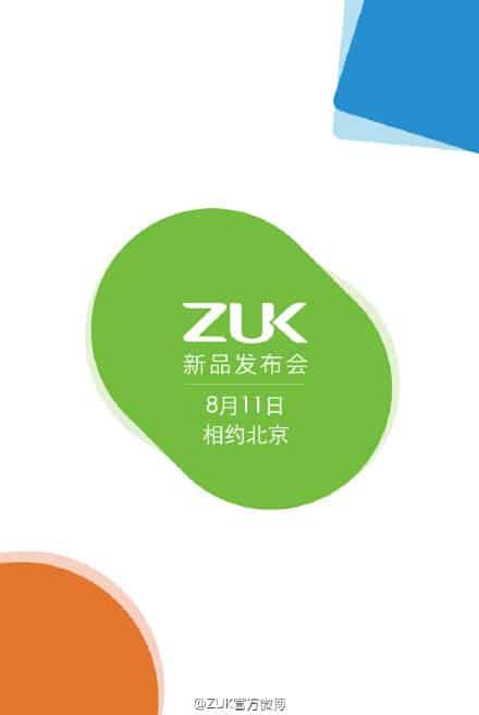 ZUK Z1 August 8 release date_1