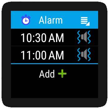 alarm clock wear