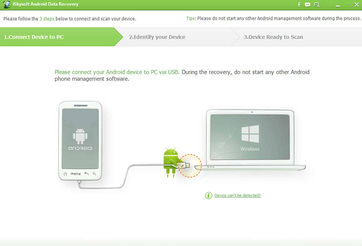 iSkysoft Android Data Recovery-5