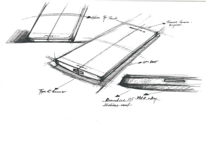 OnePlus 2 Sketches Reveal New Details inc 8MP Front Camera