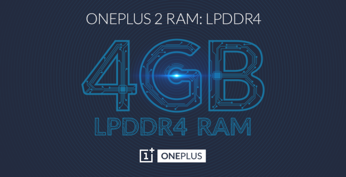 OnePlus Confirms OnePlus 2 Comes With 4GB RAM