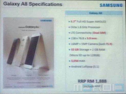 samsung-galaxy-A8-price-leak KK