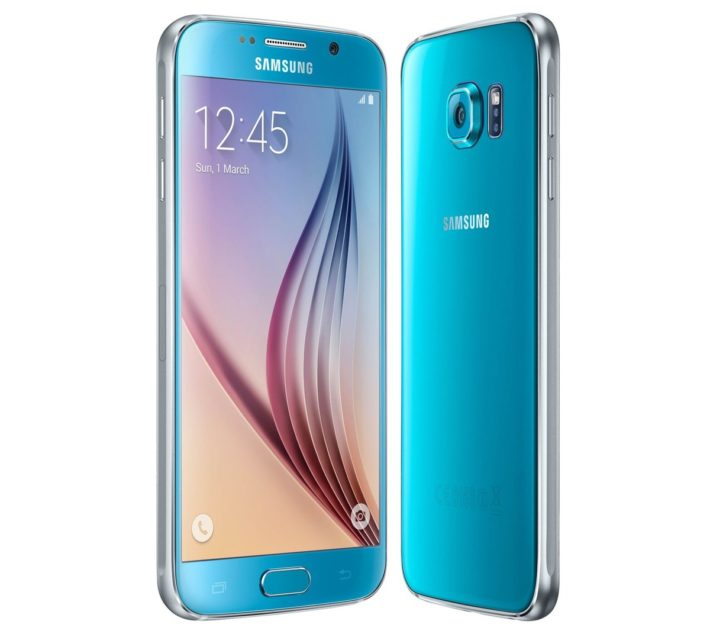 Blue Galaxy S6 Available At Carphone Warehouse In The UK