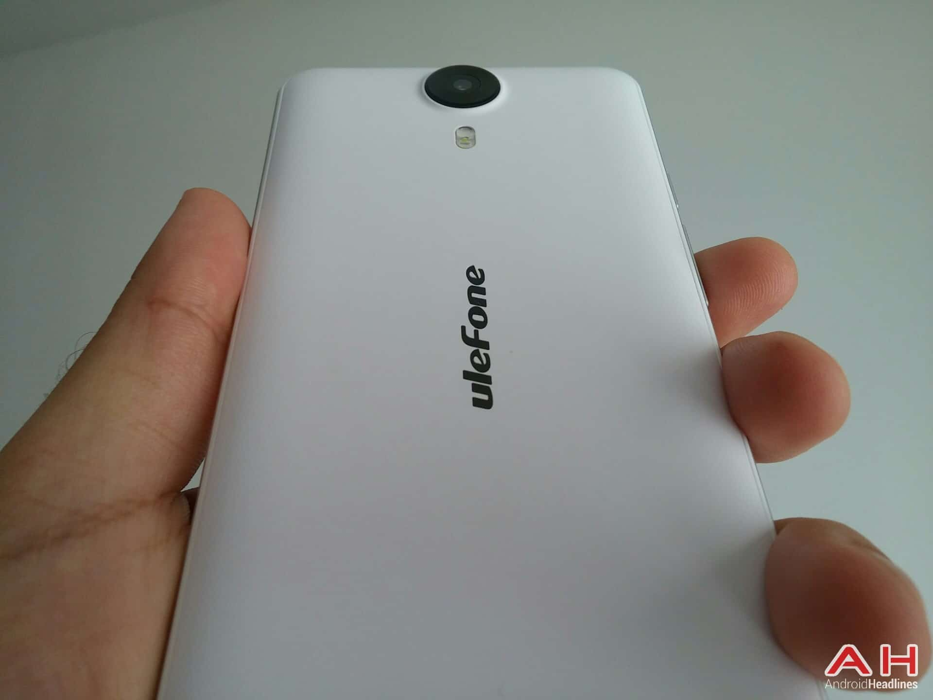 AH Ulefone Be Touch review design 9