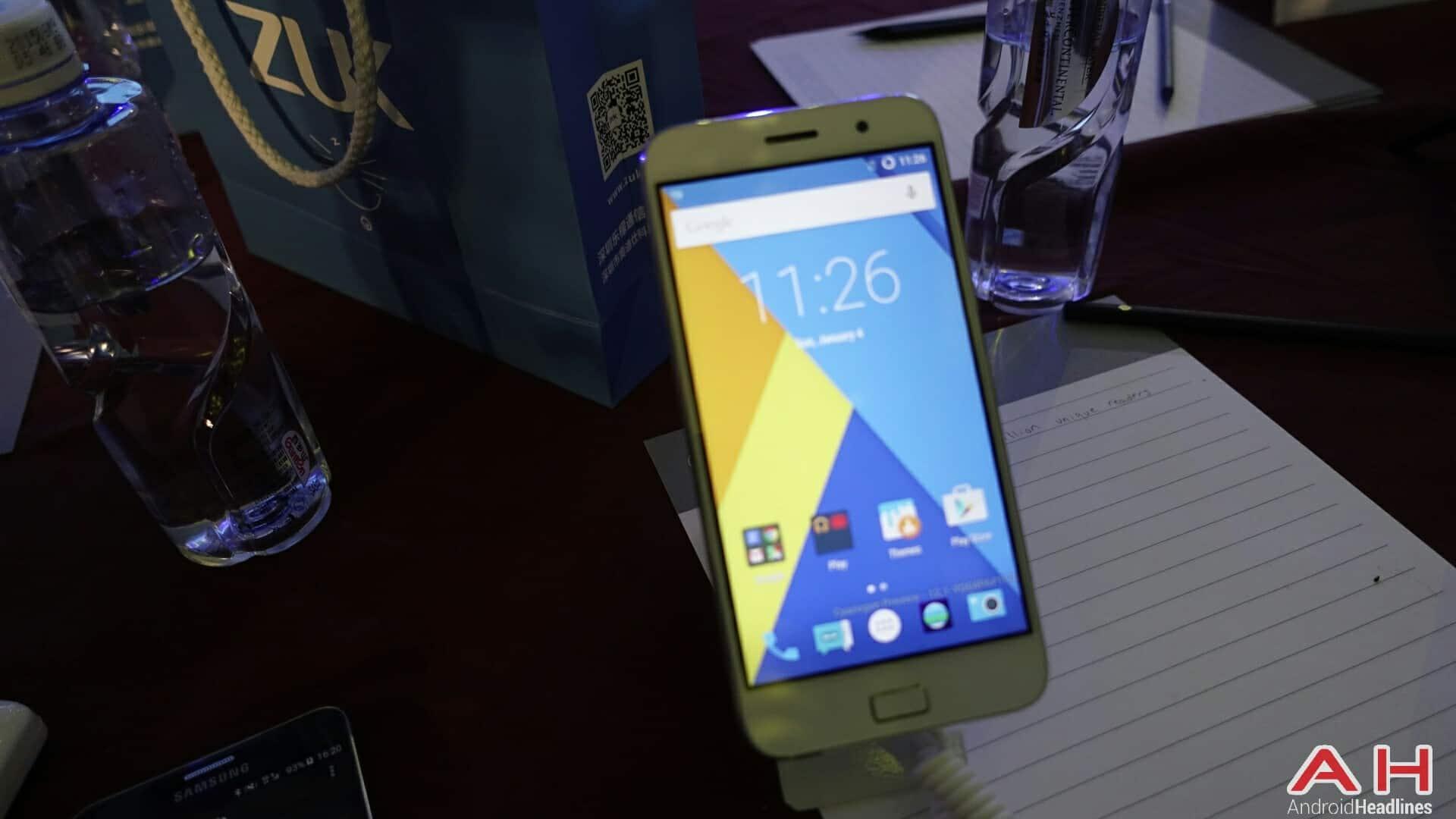 AH ZUK Z1 Cyanogen version 1