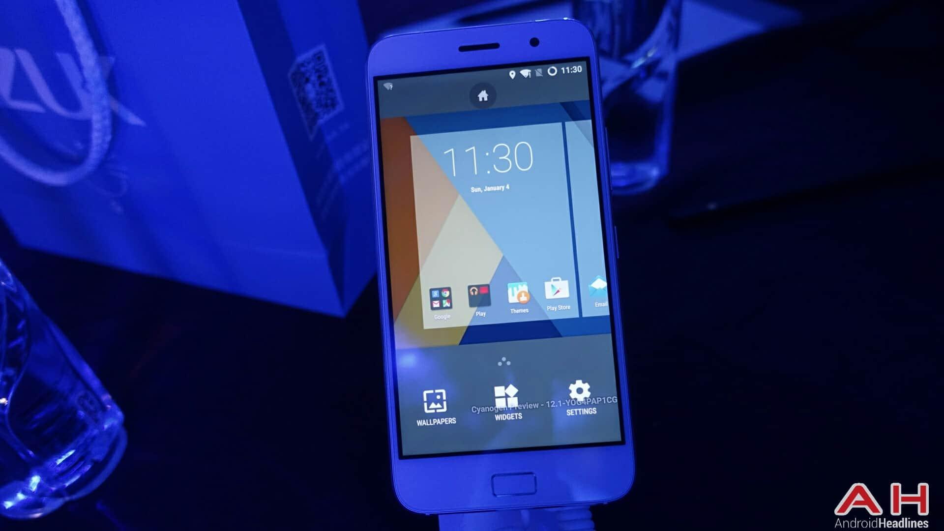 AH ZUK Z1 Cyanogen version 10