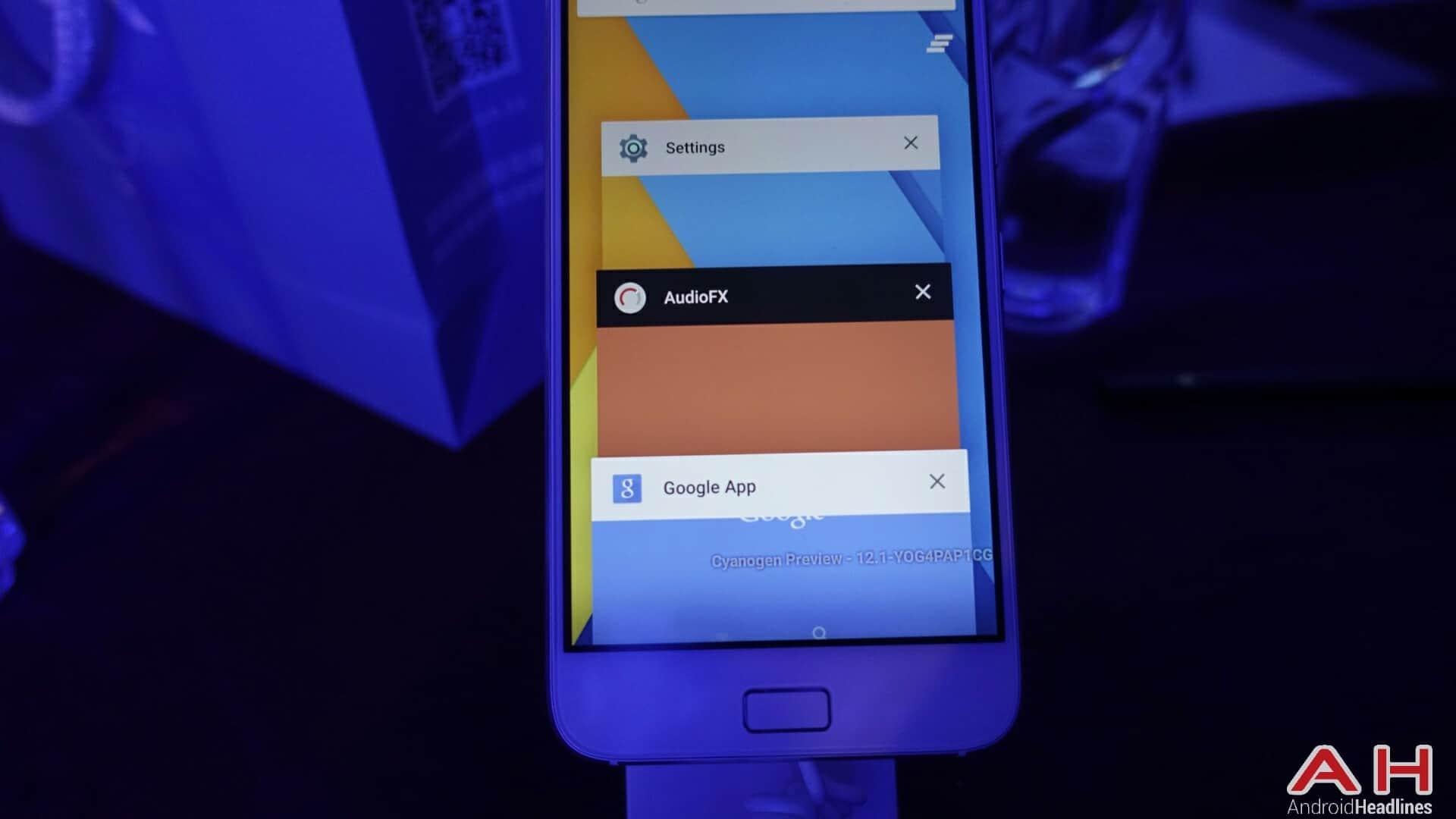 AH ZUK Z1 Cyanogen version 2