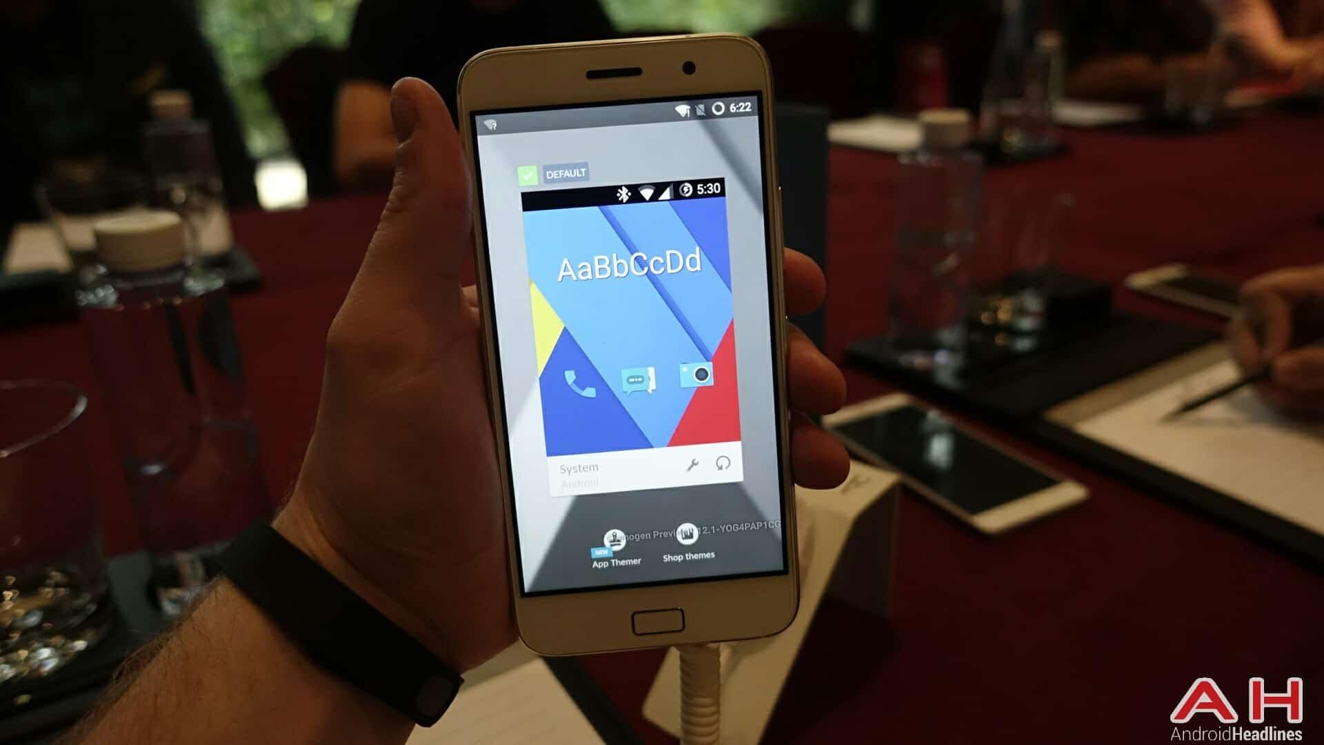 AH ZUK Z1 Cyanogen version 21