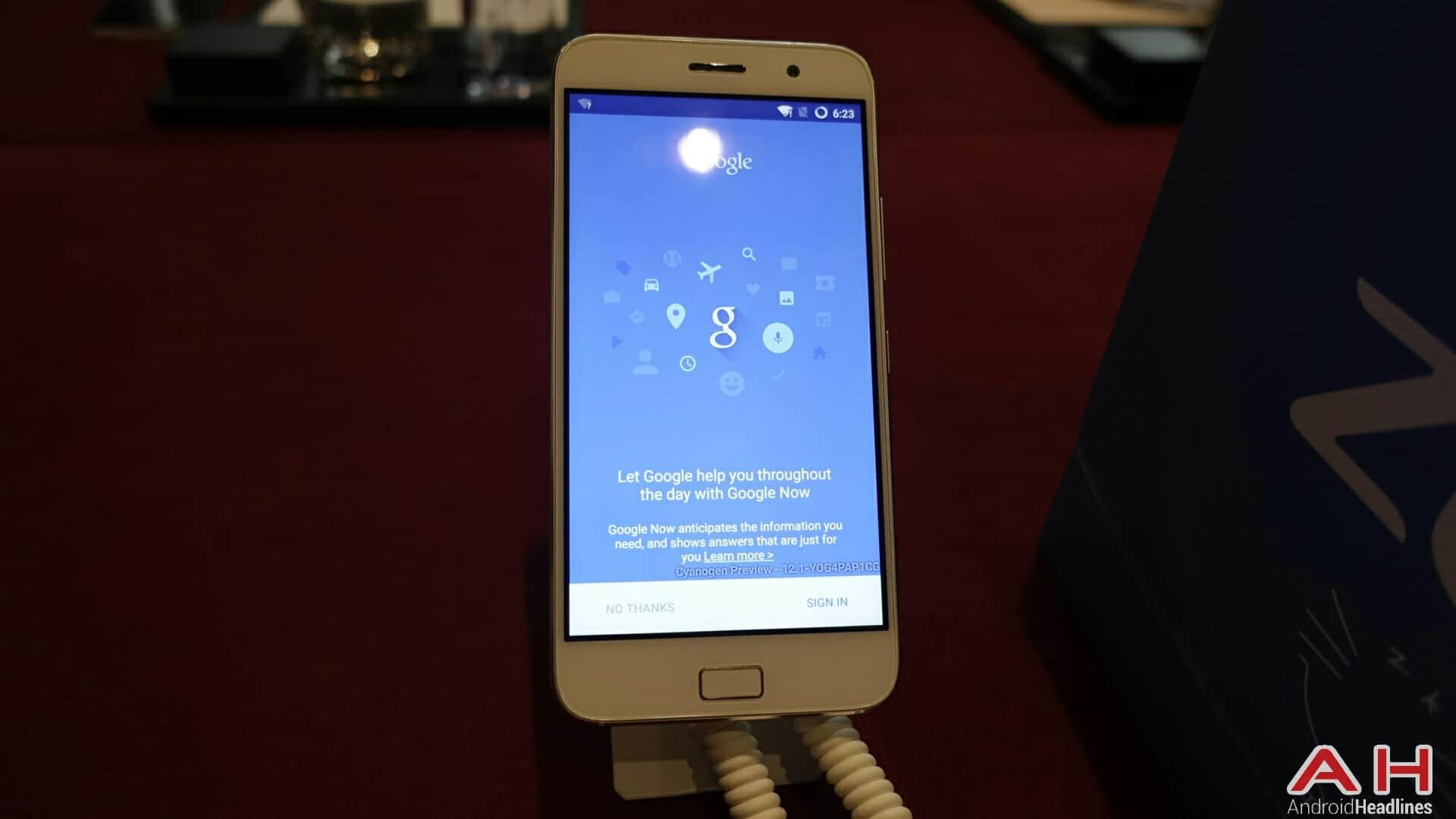 AH ZUK Z1 Cyanogen version 24