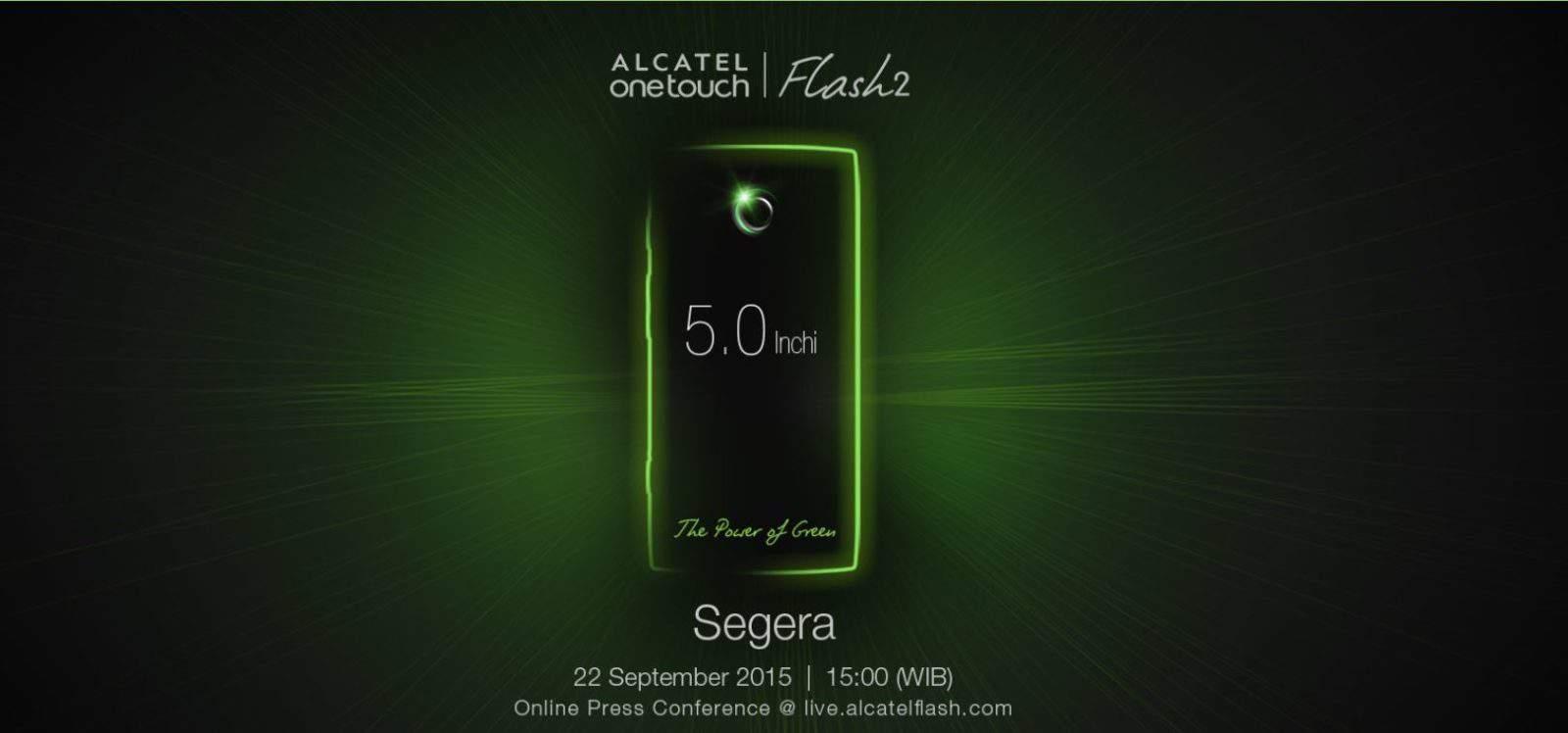 Alcatel Flash 2 Teaser