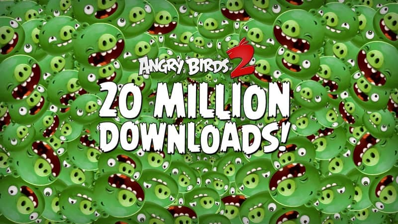 Angry Birds 2 20 Million Downloads KK