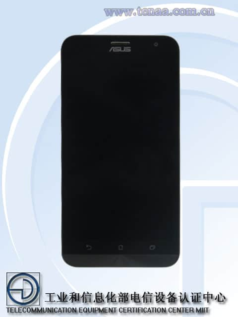 Asus Z00TDA ZenFone TENAA 1