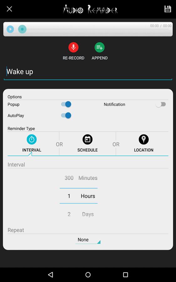 Audio Reminder Pro