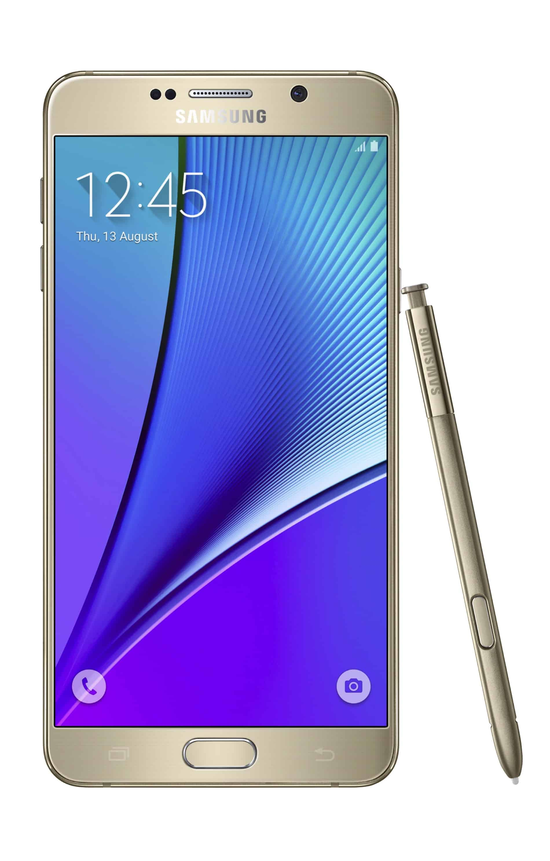 Galaxy Note 5 Gold 04