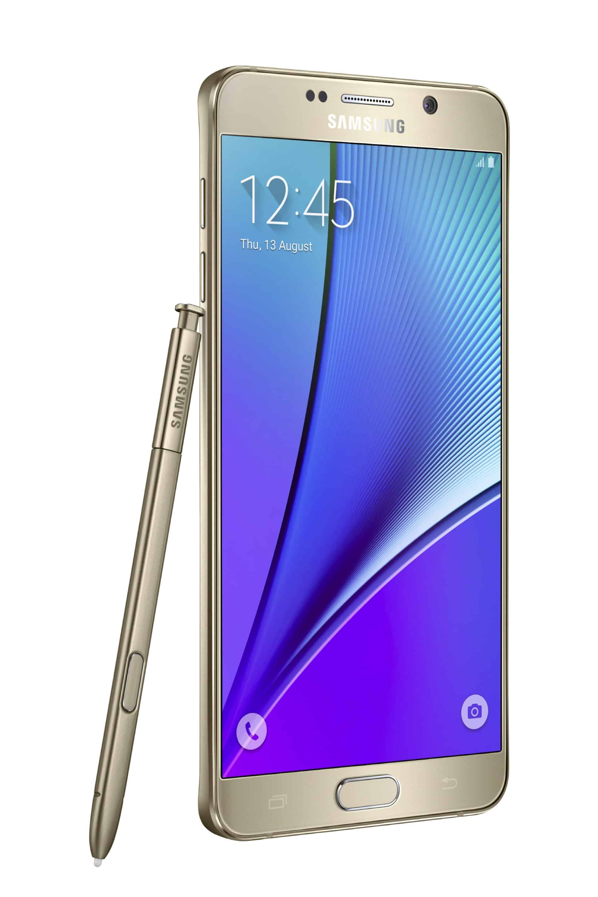 Galaxy Note 5 Gold 07