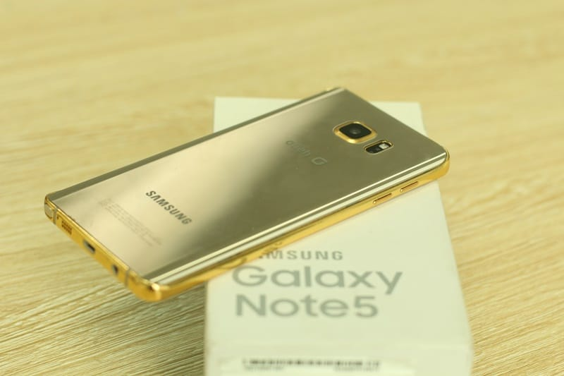 Samsungs Galaxy Note 5 Gets Gold Plated In Vietnam