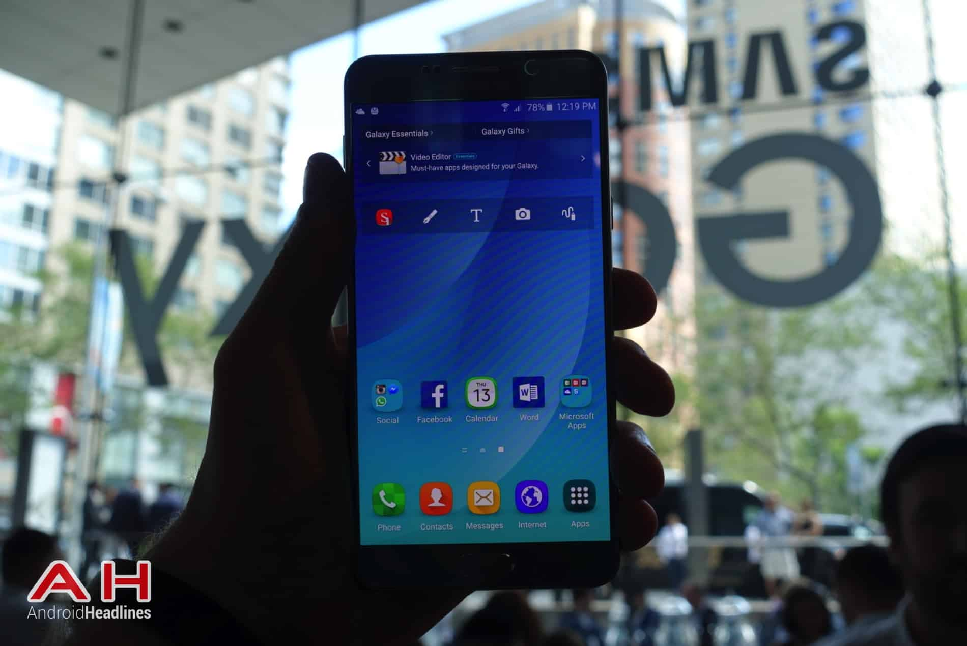 Galaxy Note 5 Hands On AH 01