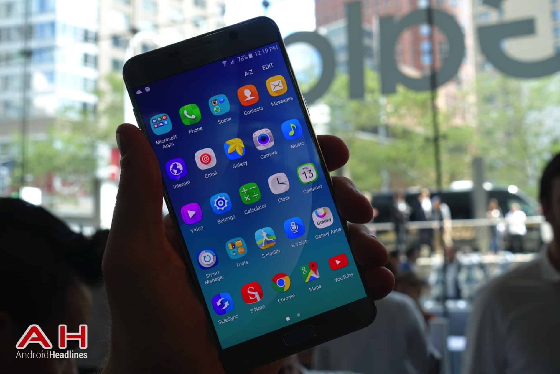 Galaxy Note 5 Hands On AH 03