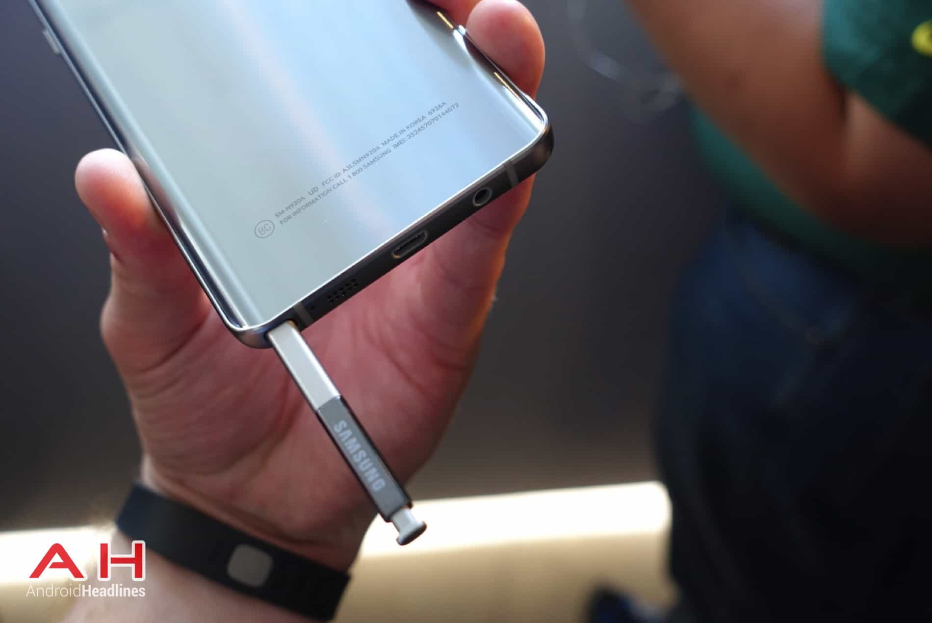 Galaxy Note 5 Hands On AH 10
