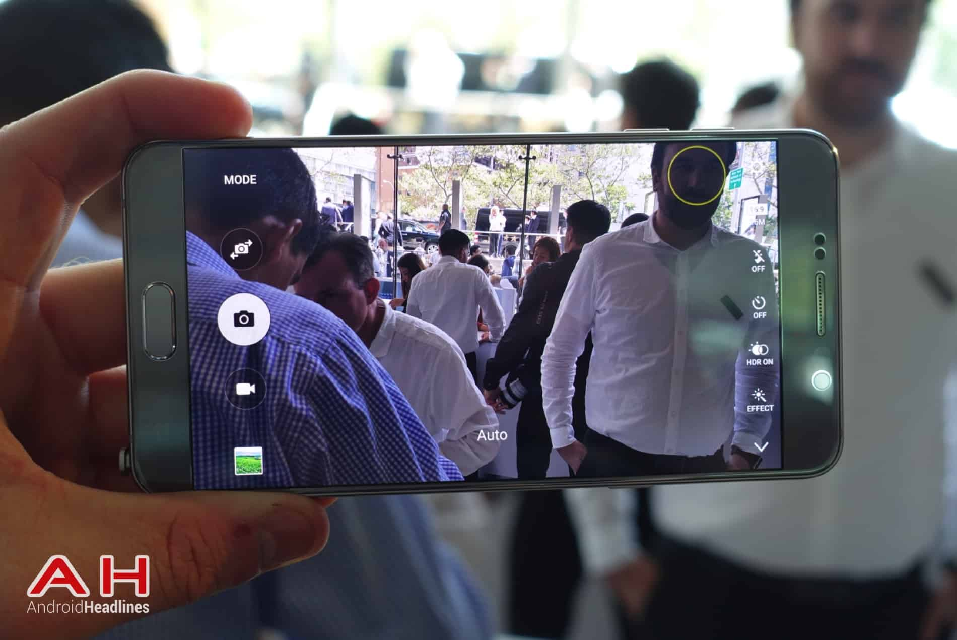 Galaxy Note 5 Hands On AH 13