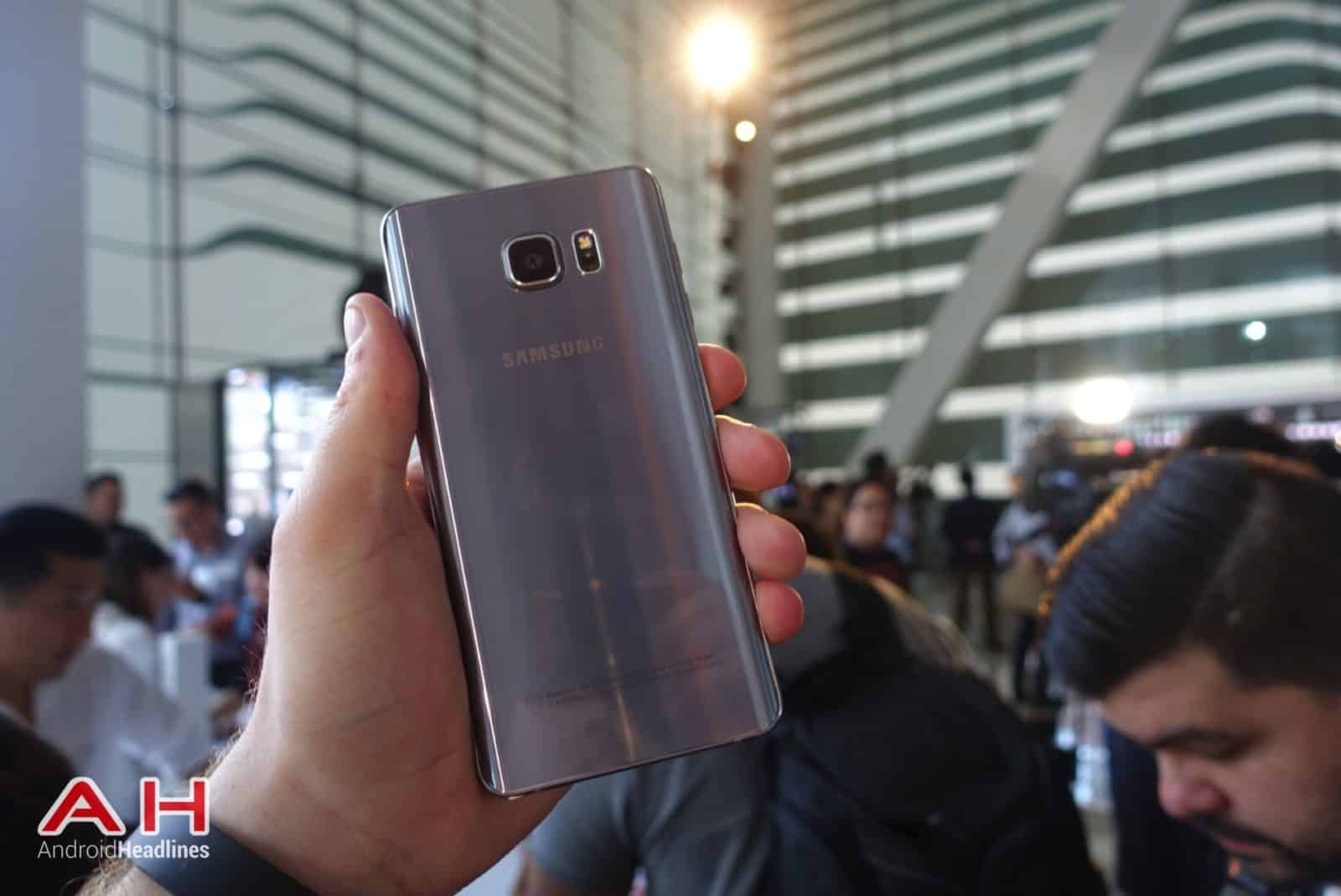 Galaxy Note 5 Hands On AH 17