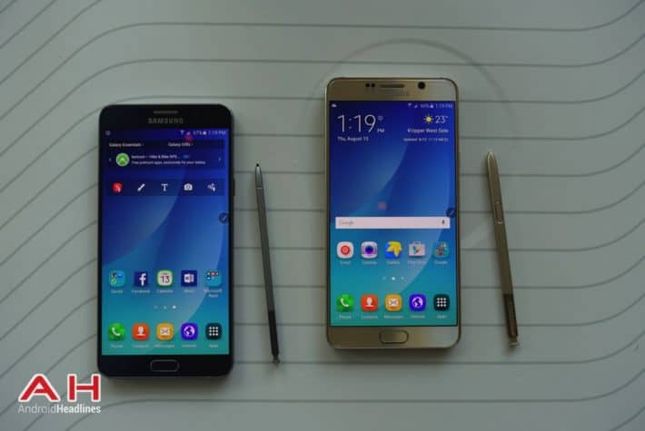 Galaxy Note 5 Hands On COLOR AH 16