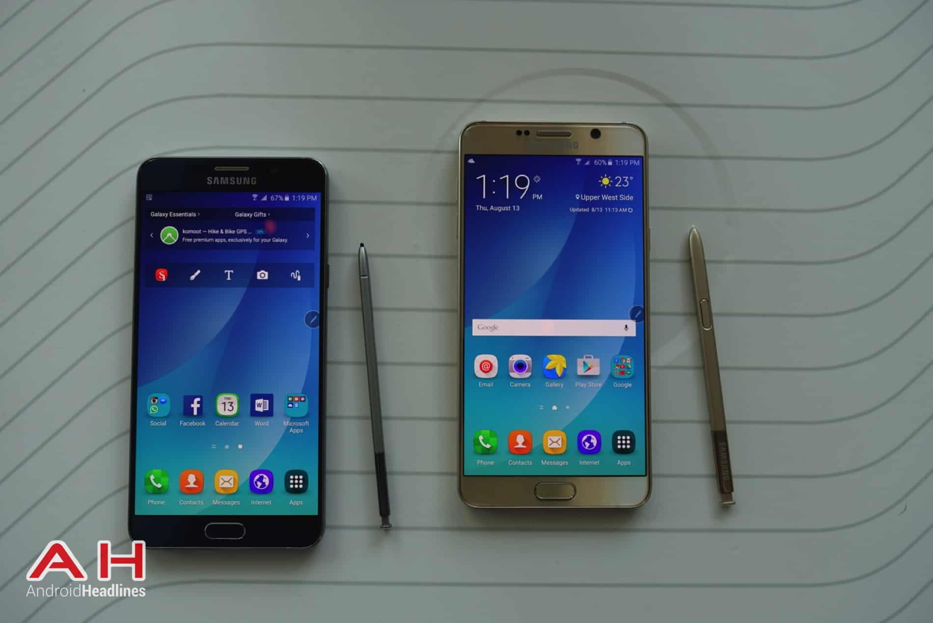 Galaxy Note 5 Hands On COLOR AH 17