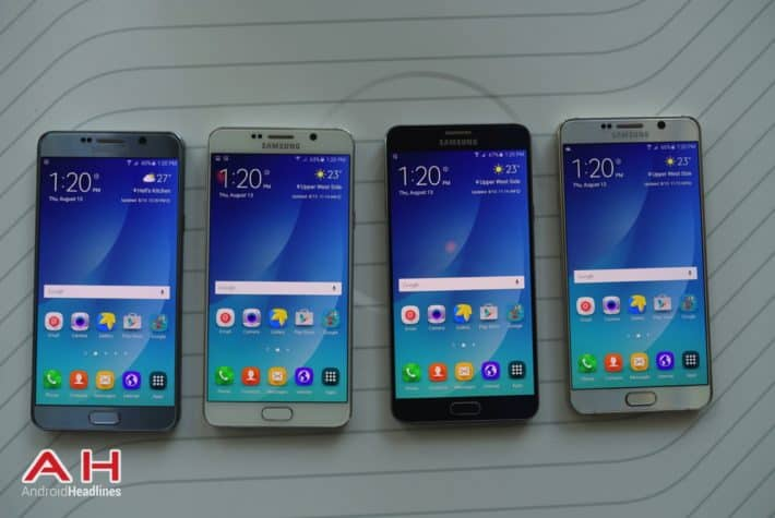 Galaxy Note 5 Hands On COLOR AH 22
