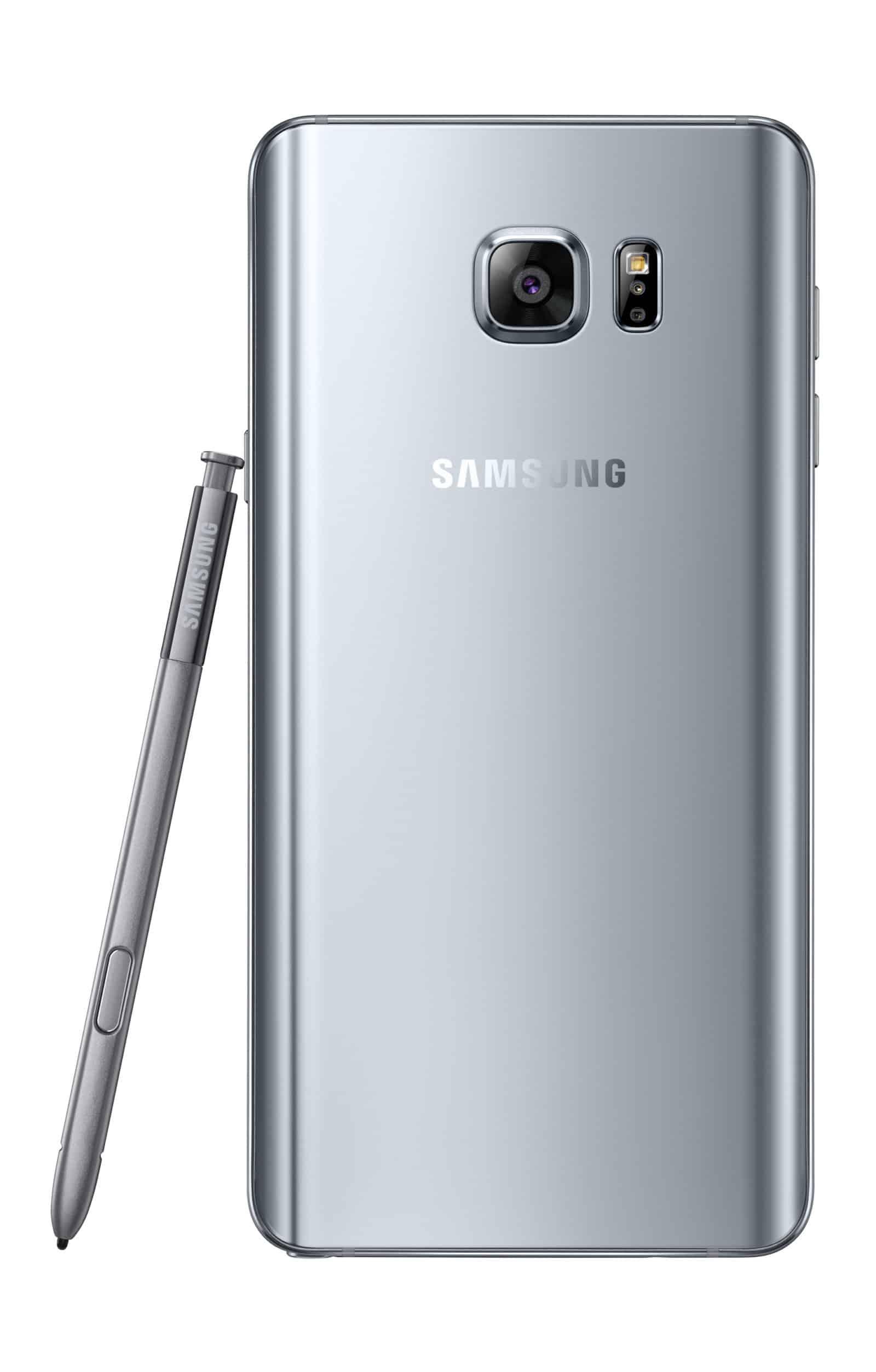 Galaxy Note 5 Silver2