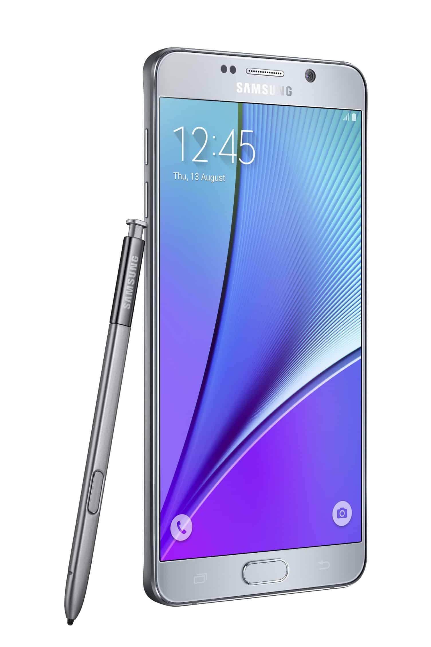 Galaxy Note 5 Silver7