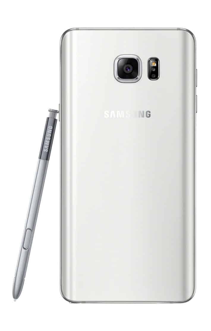Galaxy Note 5 White 03