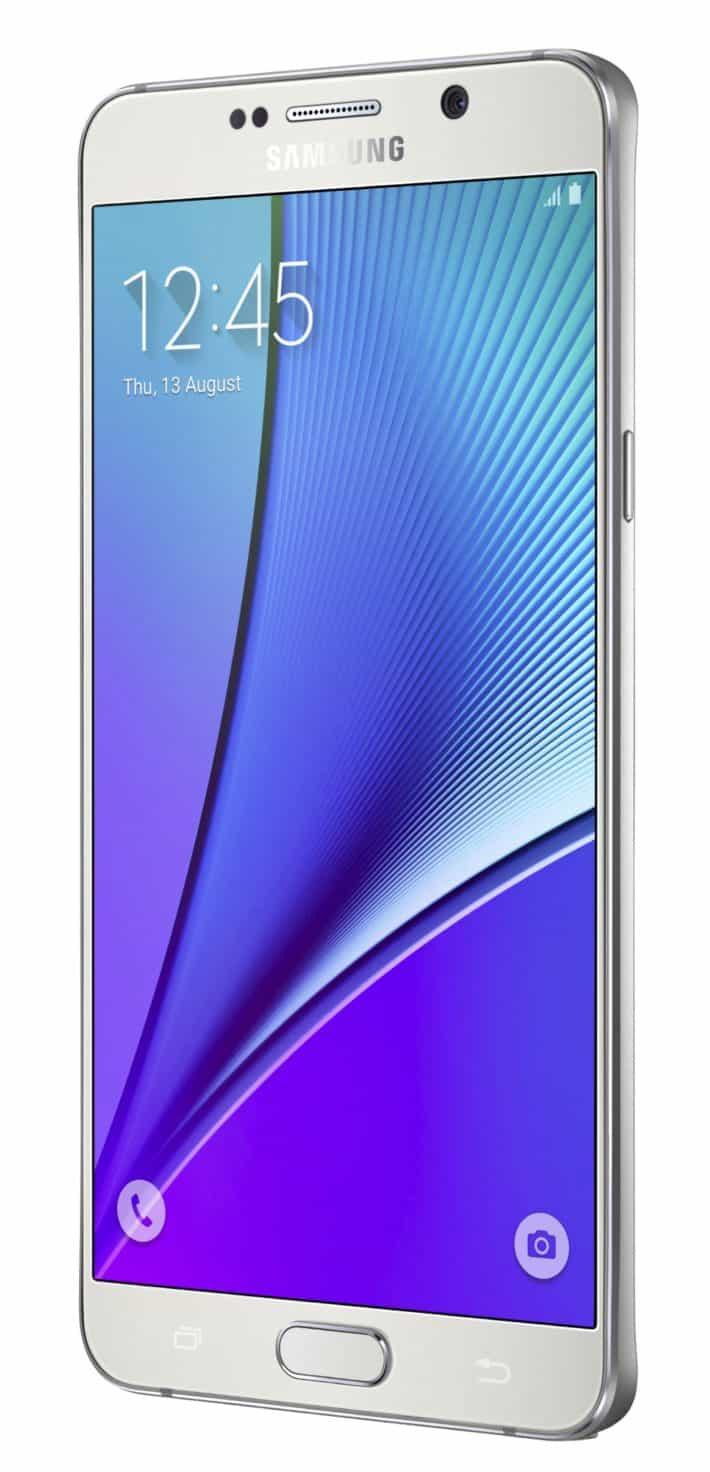 Galaxy Note 5 White 09