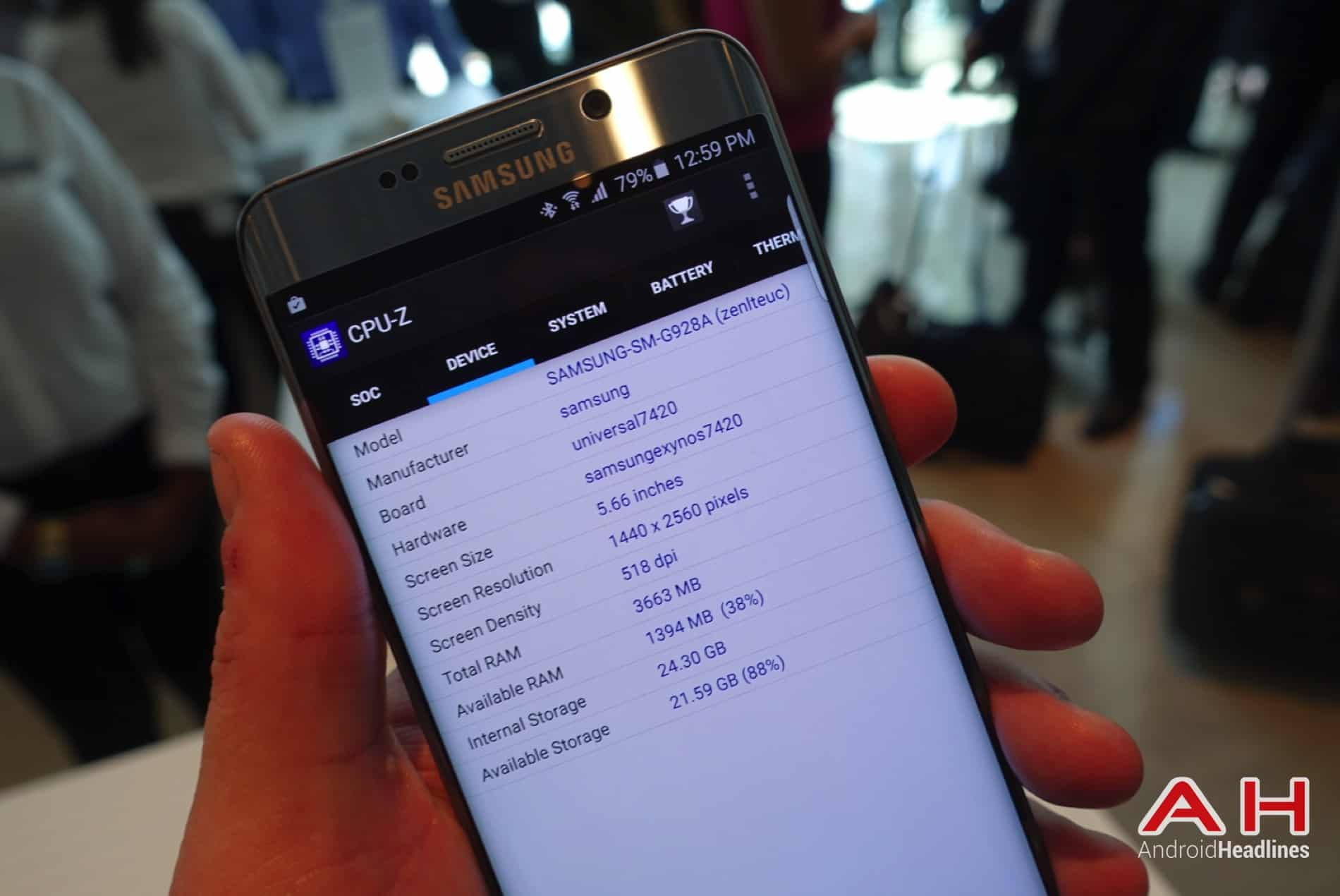 Galaxy S6 Edge Bench AH 03