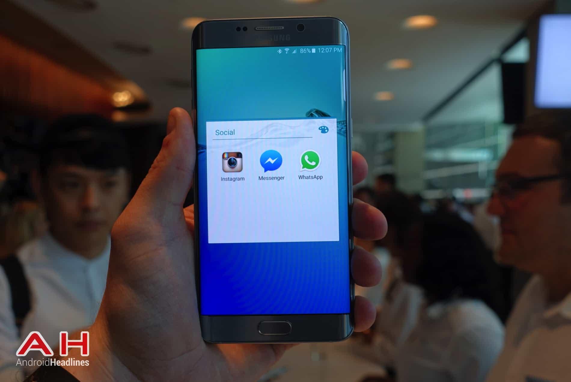 Galaxy S6 Edge Hands On AH 18