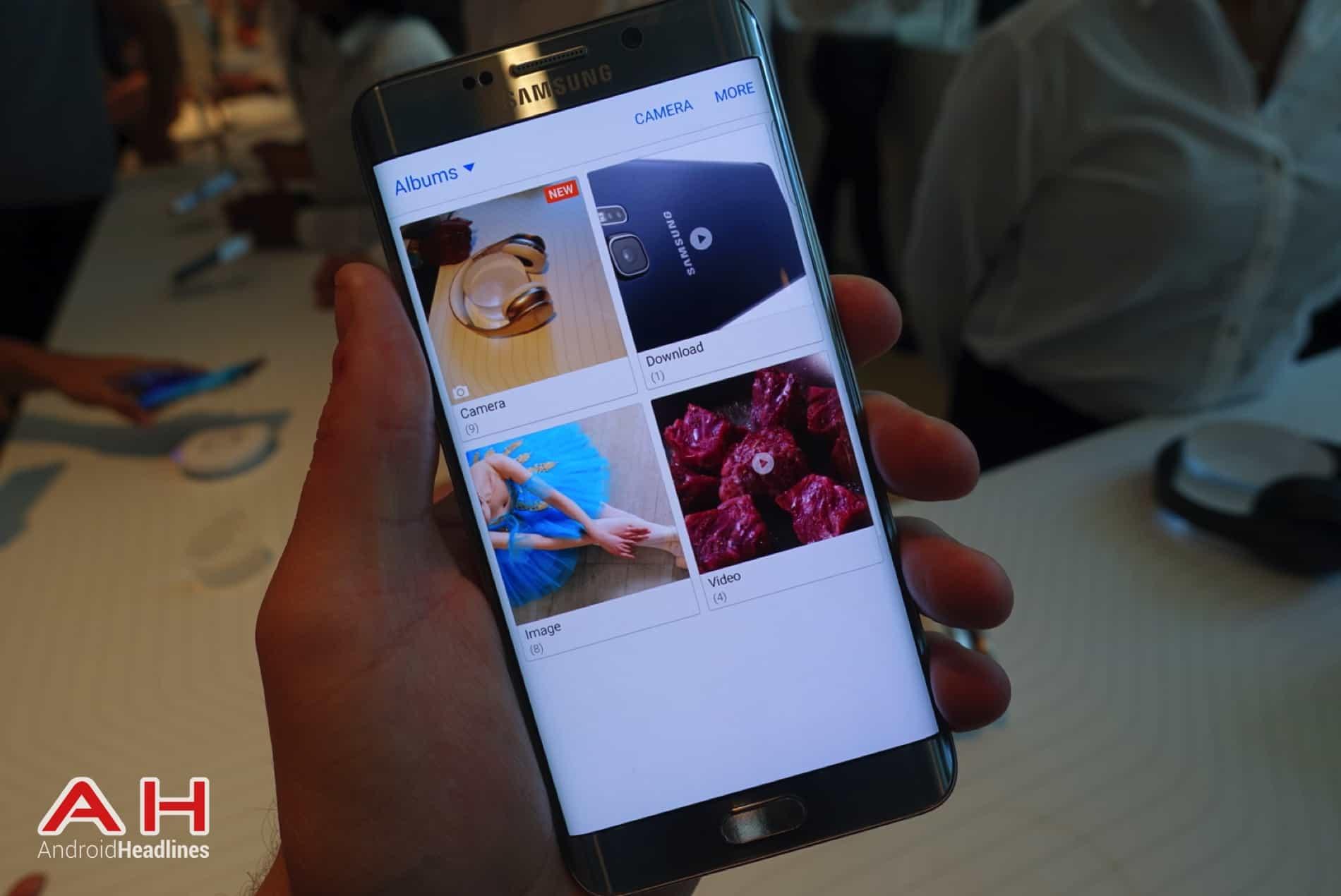 Galaxy S6 Edge Hands On AH 27